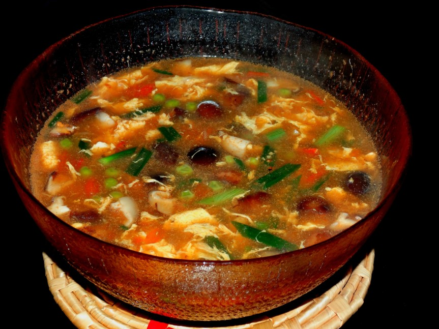 Hot and Sour Soup…an all timefavorite!
