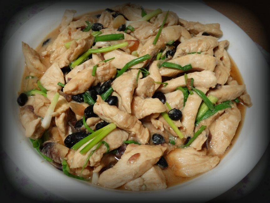 Chicken in Black BeanSauce